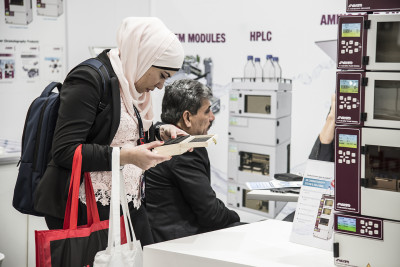 Checking out the latest technology at #Arablab2019