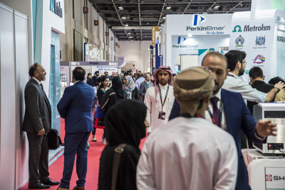 As a hugely successful show comes to an end - here are some shots showing the diversity of #Arablab2019 !